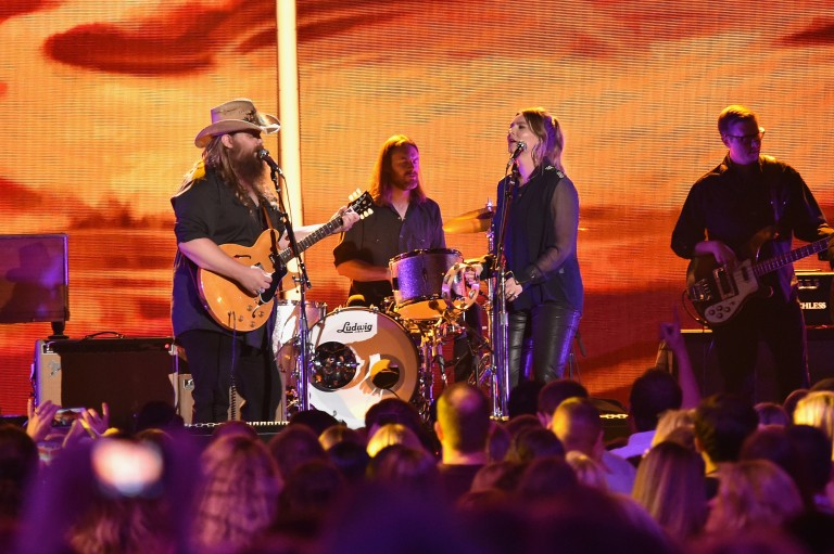Chris Stapleton Sings From the Heart During Performance of 'Parachute' at CMT Awards