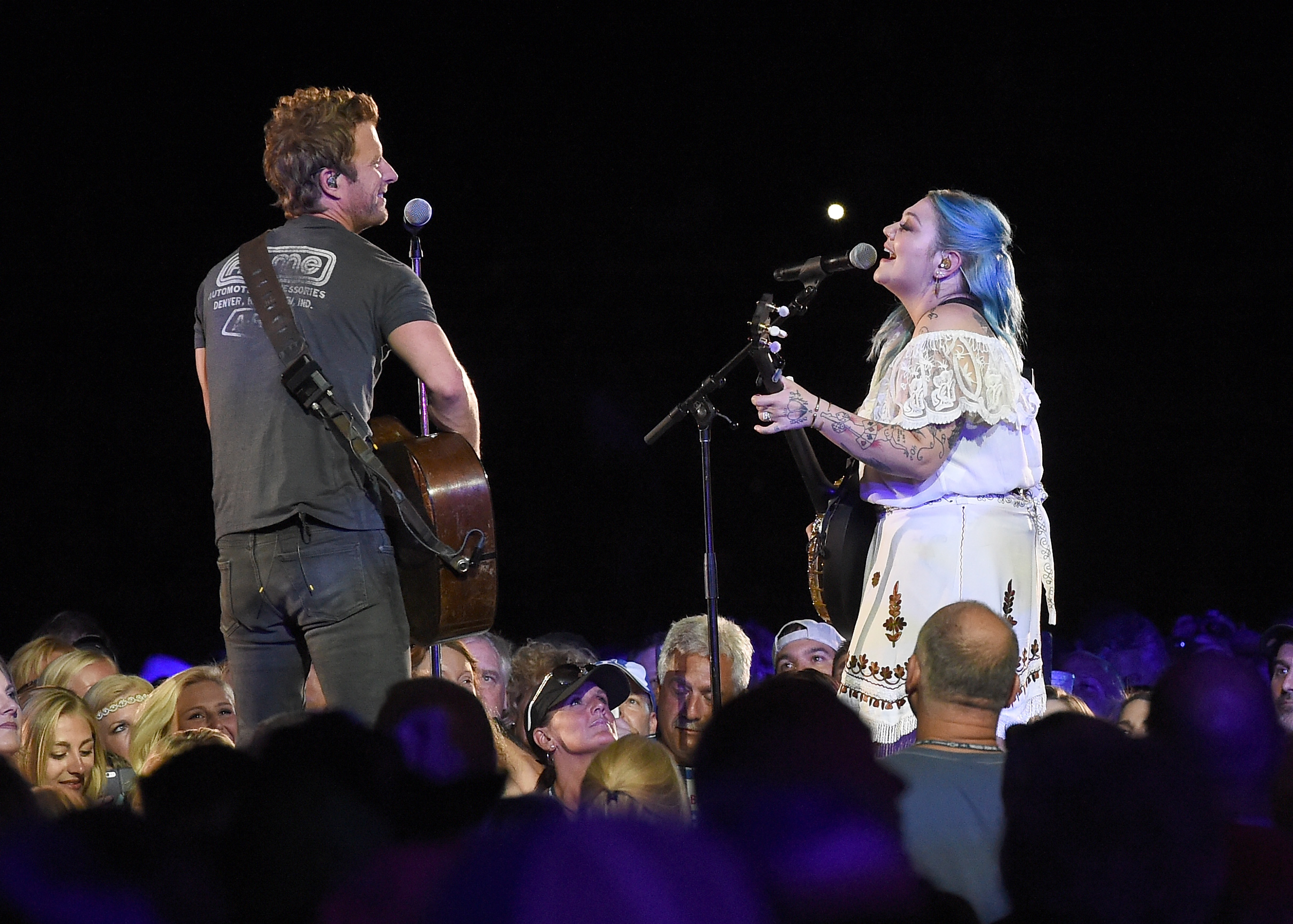Surprises rule night one of cma fest nightly concerts for Best country duets male and female