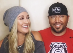 Jason Aldean and Wife Brittany Answer Fan Questions in Adorable Videos