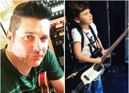 Rascal Flatts' Jay DeMarcus' Son Joins Band on Stage During Concert
