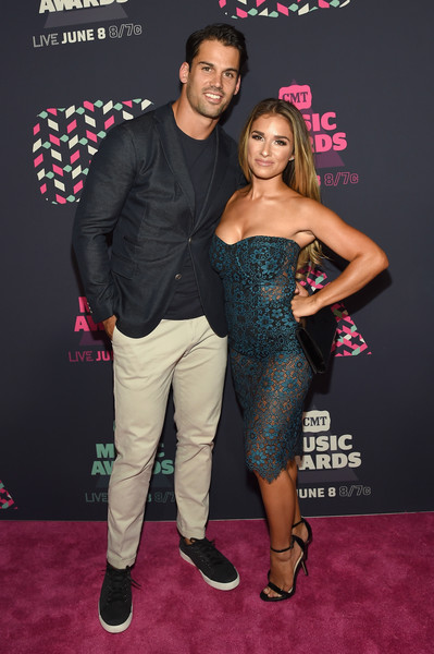 Jessie James Decker and Eric Decker; Photo by Getty Images