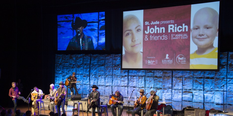 John Rich, Frankie Ballard & More Support St. Jude at Annual 'John Rich and Friends' Event