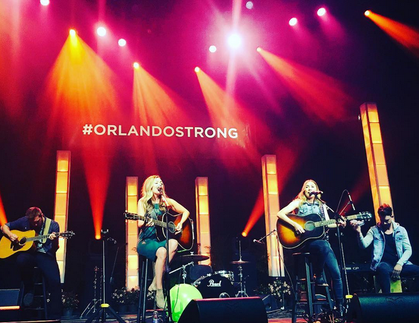 Maddie & Tae Pay Tribute to Orlando with 'After The Storm Blows Through'