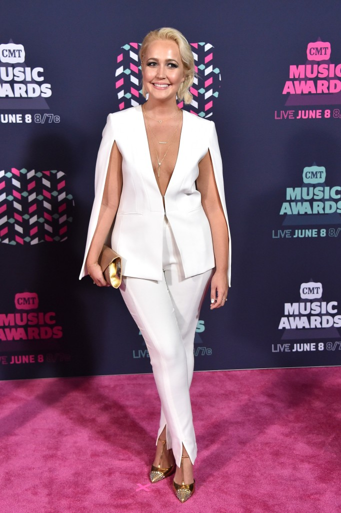 Meghan Linsey; Photo by Mike Coppola/Getty Images