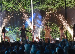 Cassadee Pope Fires Up the CMT Music Awards with Pitbull and Leona Lewis
