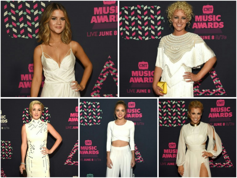Country Stars Looking White-Hot at the CMT Music Awards