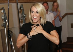 Carrie Underwood Takes a Trip Down Memory Lane with Visit to Her High School