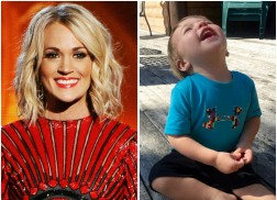 Carrie Underwood Shares Cute Video of Son Isaiah Soaking Up Summer