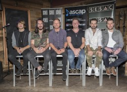 Dierks Bentley and Songwriters Celebrate 'Somewhere On A Beach' In Nashville
