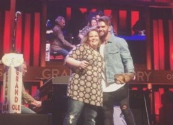 Chewbacca Mom Joins Dylan Scott at the Grand Ole Opry
