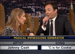 Jimmy Fallon Channels Johnny Cash in Musical Impressions