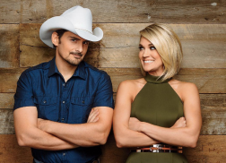 Brad Paisley, Carrie Underwood Reveal CMA Awards Hosting Secrets In 'Southern Living'