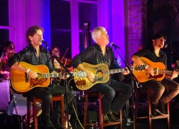 Brett James, Chris DeStefano, Rivers Rutherford Dazzle at Songwriters Under the Stars