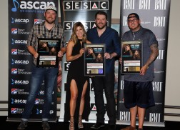 Chris Young and Cassadee Pope Celebrate 'Think Of You'