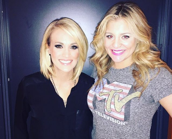 Lauren Alaina Looks Up To Carrie Underwood 'In Every Way'