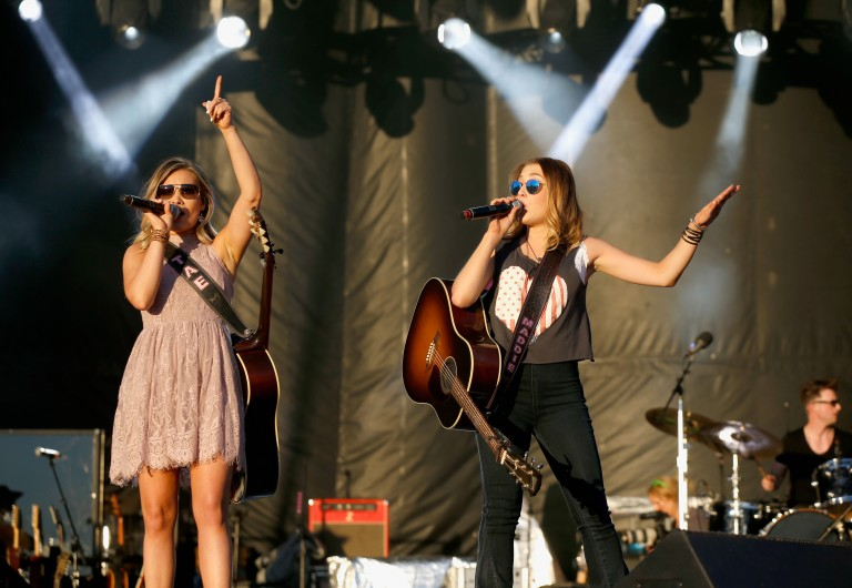 Maddie and Tae Miss Their Tour Family with Dierks Bentley and Kip Moore