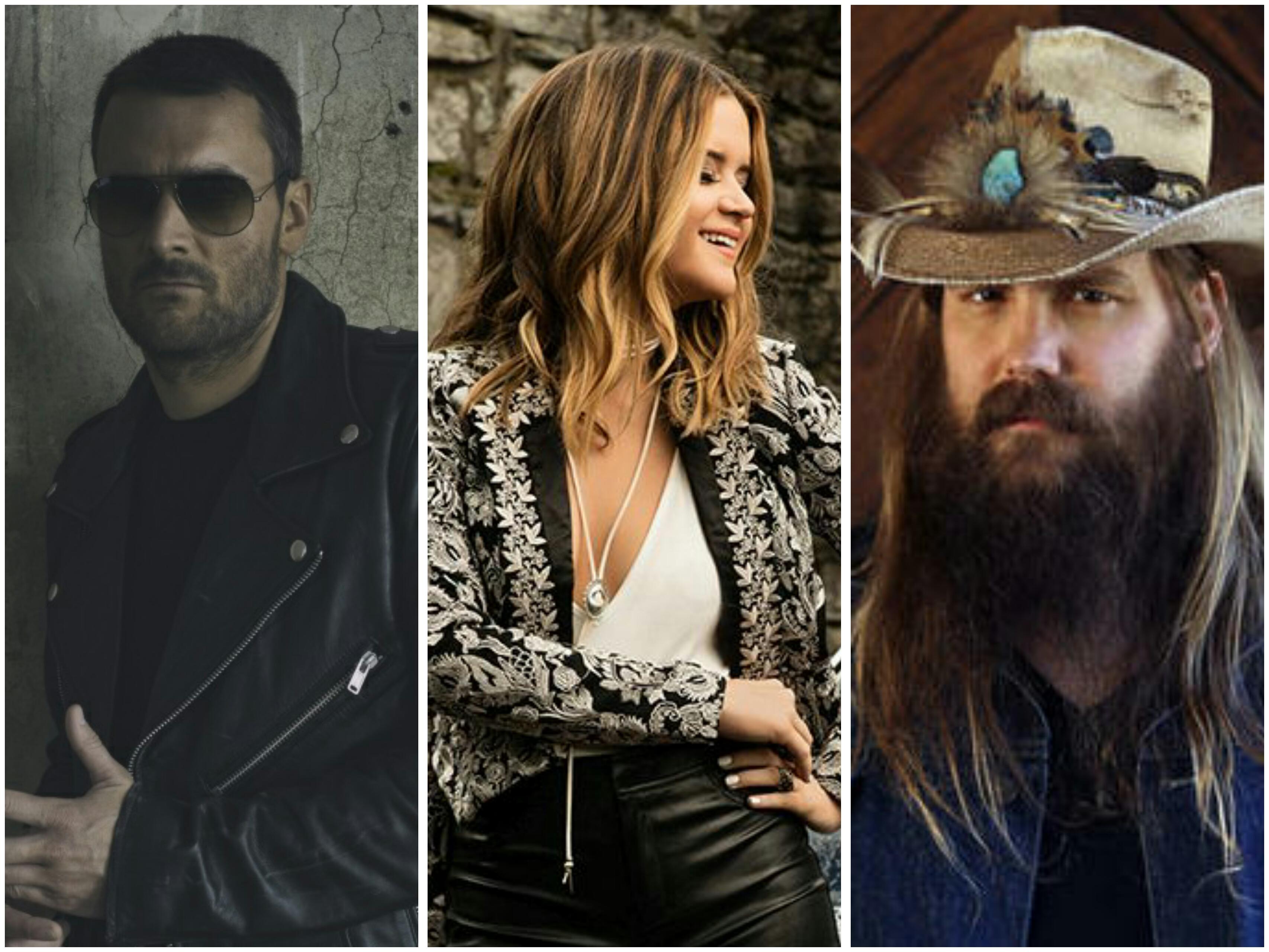 Eric Church, Maren Morris, Chris Stapleton Lead Nominees for 50th Annual CMA Awards