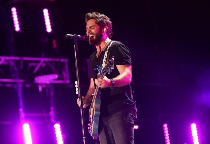 Thomas Rhett Found Interviewing to Be Harder Than Expected