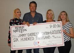 Blake Shelton Donates $600k to Jimmy Everest Children's Hospital