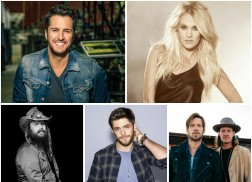 Carrie Underwood, Luke Bryan Among 2016 CMT Artists of the Year