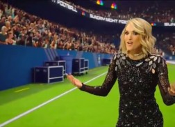 Carrie Underwood Struts her Stuff in New 'Sunday Night Football' Opening