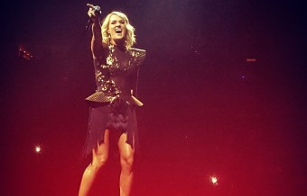 Carrie Underwood Wows in Nashville