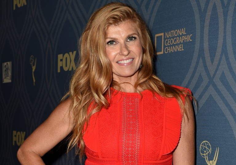 Connie Britton Talks 'Nashville' on the Emmys Red Carpet