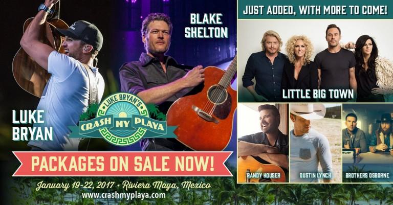 Little Big Town, Randy Houser & More Join Luke Bryan's Crash My Playa