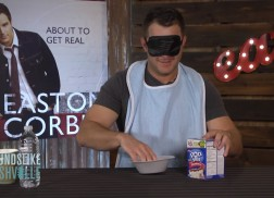 Easton Corbin Takes on the 'What's in my Mouth Challenge'