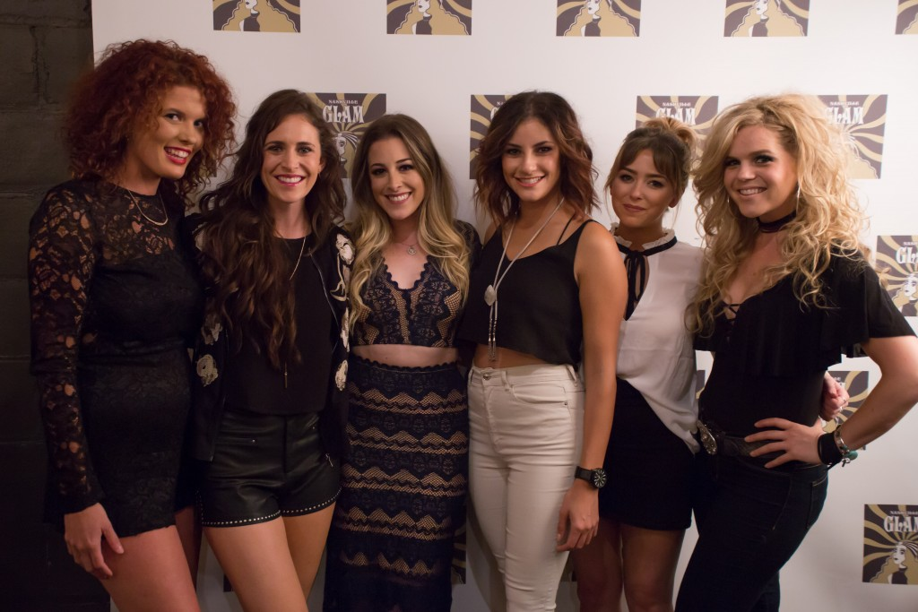 (Photo L-R) Rebecca Sweet, Kelleigh Bannen, Rachel Silver, Nada Taha, Nikita Karmen, Natalie Stovall; Photo by Tori Leggett for Sounds Like Nashville