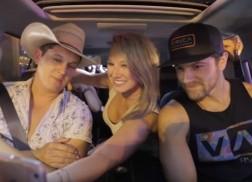 Jon Pardi and Kip Moore Take on Carpool Karaoke with Fans