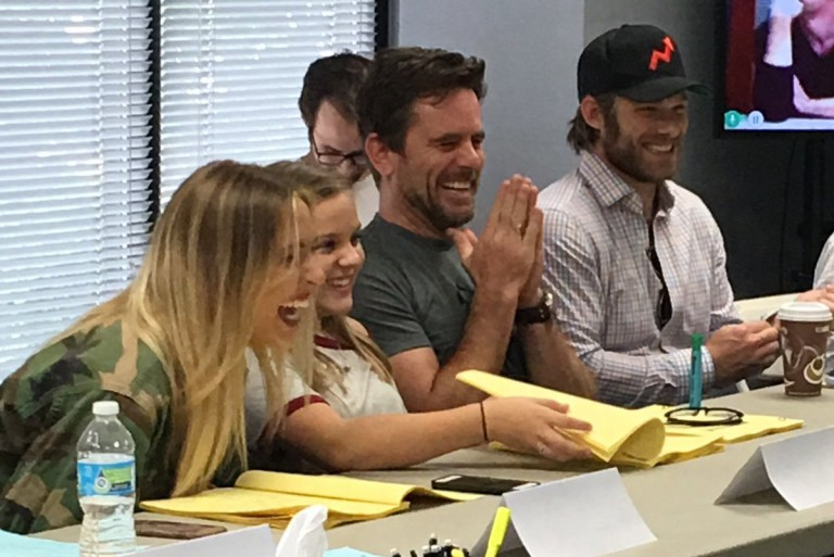 Pictures of 'Nashville' Season Five's Table Reading Released
