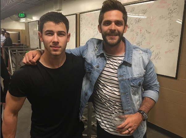 Demi Lovato and Nick Jonas Surprise Fans with Brad Paisley and Thomas Rhett at Concert