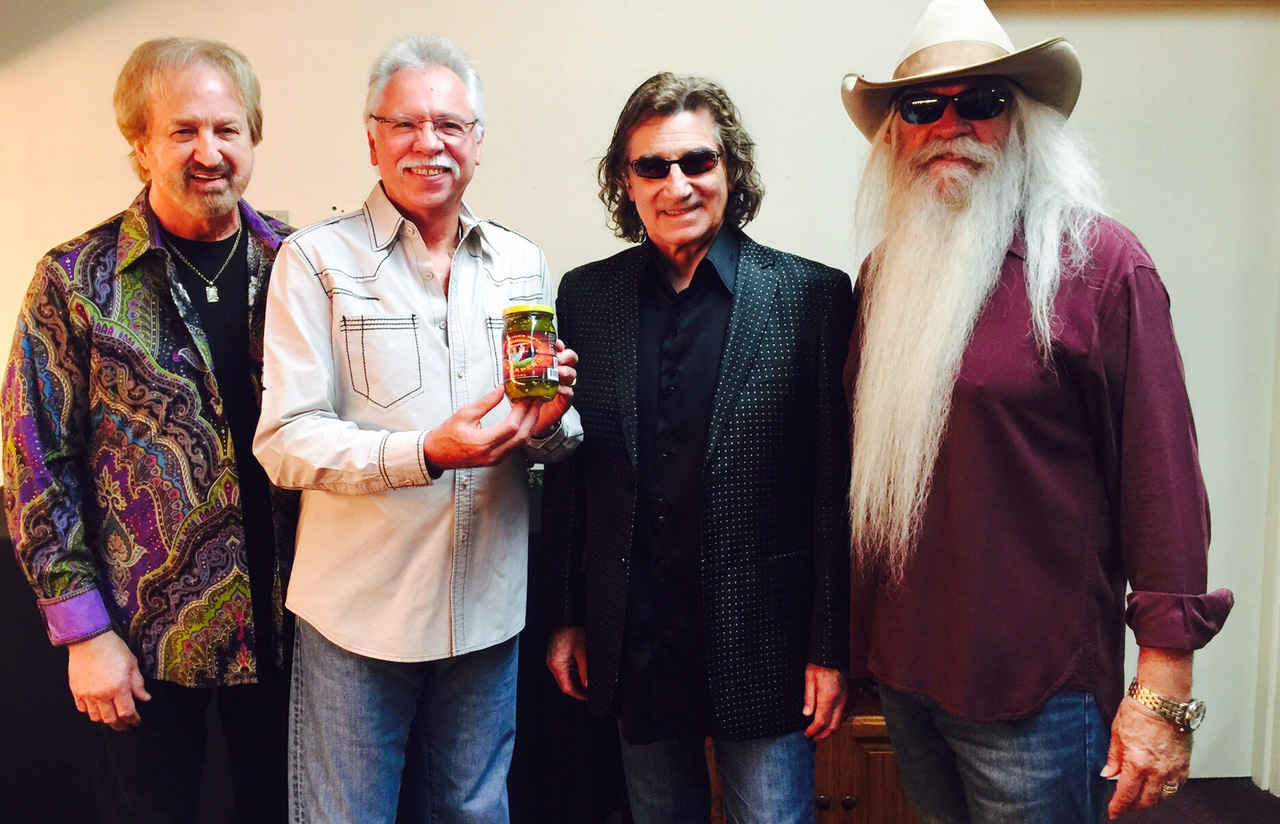The Oak Ridge Boys Introduce Line of Pickled Peppers at Cracker Barrel
