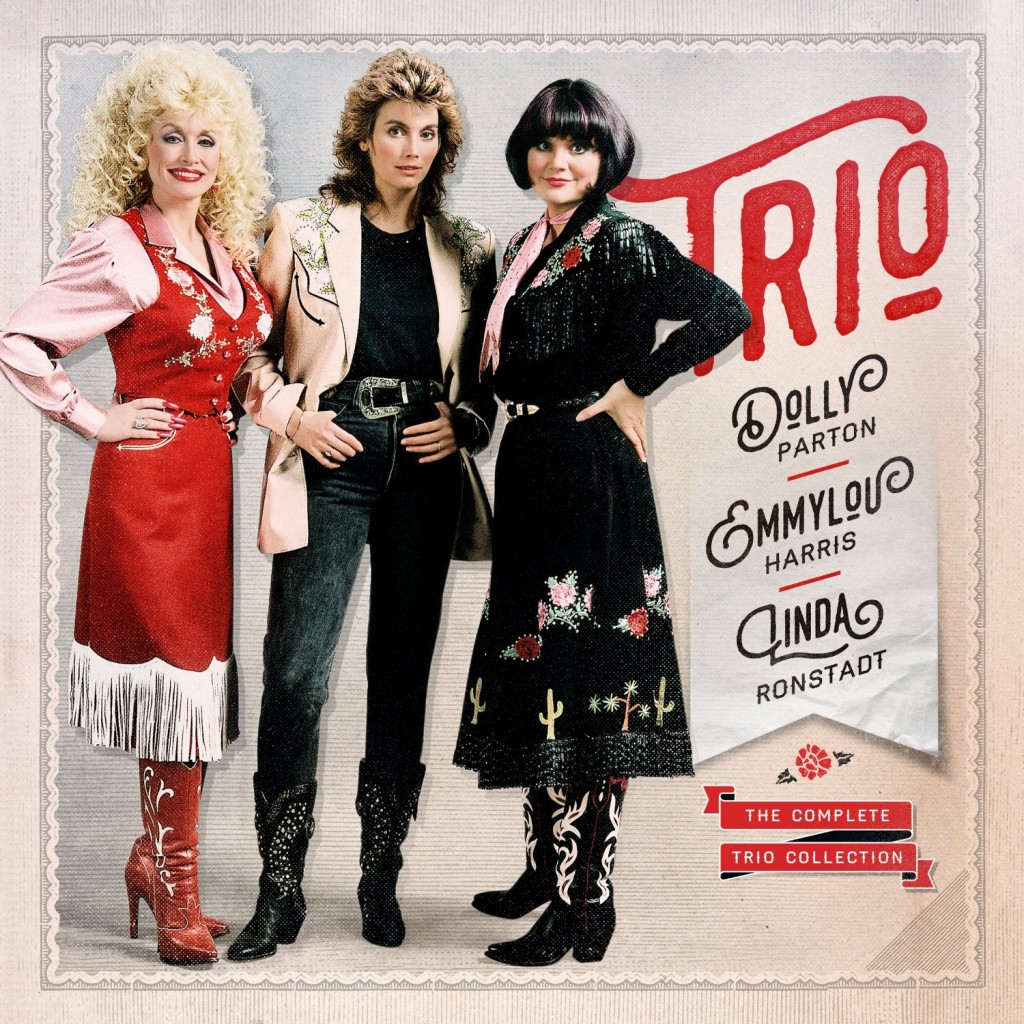 Cover art courtesy Dolly Parton, Linda Ronstadt and Emmylou Harris