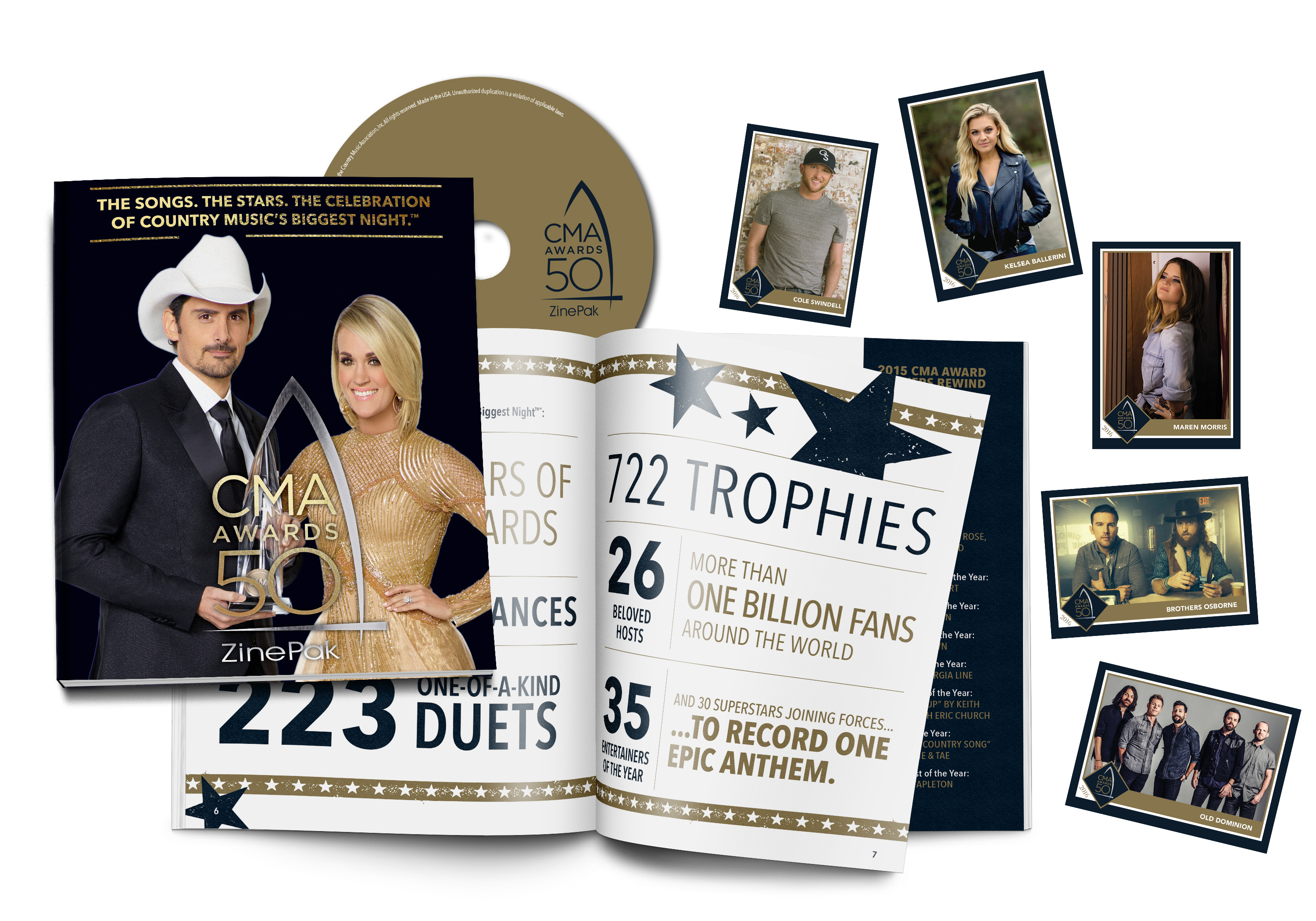 WIN a 50th Annual CMA Awards Zinepak