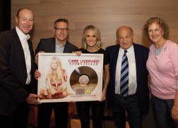 Carrie Underwood Honored as Highest Certified Country Album Artist of the Century