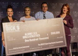 Calia by Carrie Underwood and Dick's Sporting Goods Donate $100,000 to Sports Teams