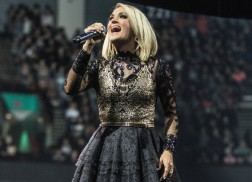 Carrie Underwood Dishes on Motherhood and Life on the Road with Isaiah