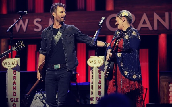 Dierks Bentley Shows Elle King Around the Grand Ole Opry on 'CBS This Morning'