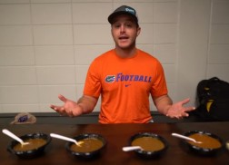 Easton Corbin Taste Tests Chili in Cincinnati for 'Easton Eats'