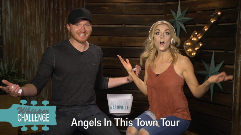 Eric Paslay and Lindsay Ell Play the 'Whisper Challenge'