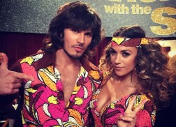 Jana Kramer Rocked the 70s Vibes with a Samba on 'Dancing with the Stars'