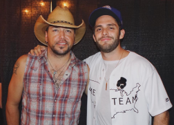 Jason Aldean Gives Thomas Rhett Special End of Tour Gift
