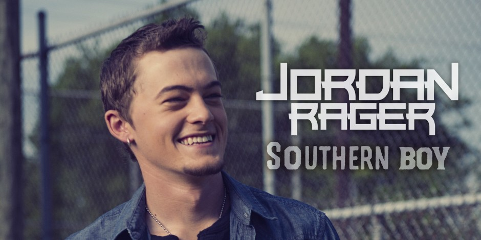 Jordan Rager Announces Release of Debut EP, 'Southern Boy'