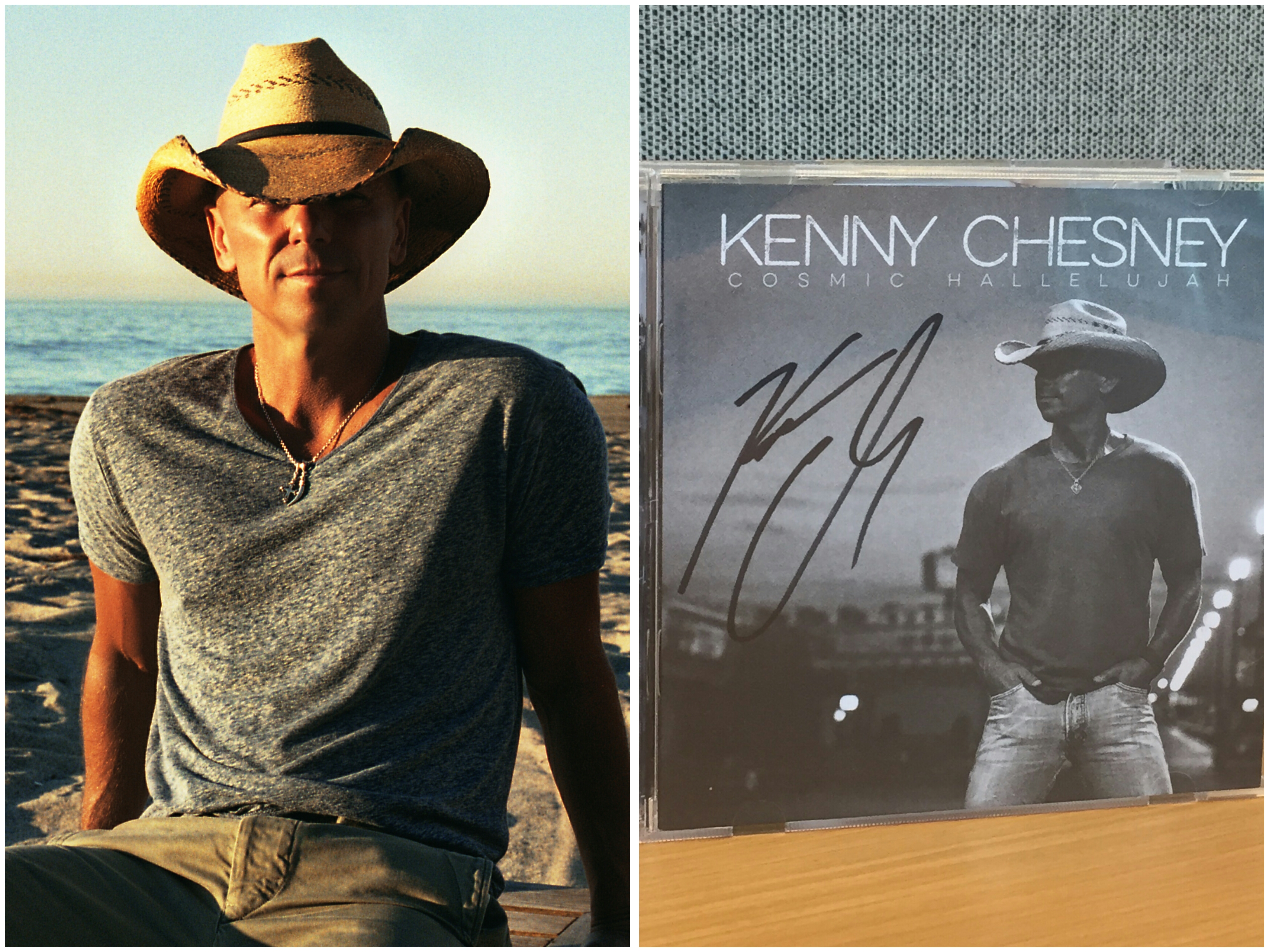 WIN an Autographed Copy of Kenny Chesney's 'Cosmic Hallelujah'