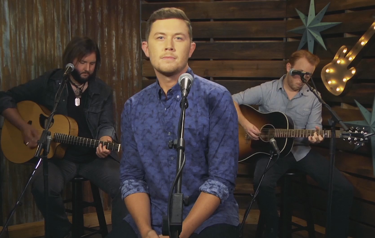 Forever Country Cover Series: Scotty McCreery Performs Jamey Johnson's 'In Color'