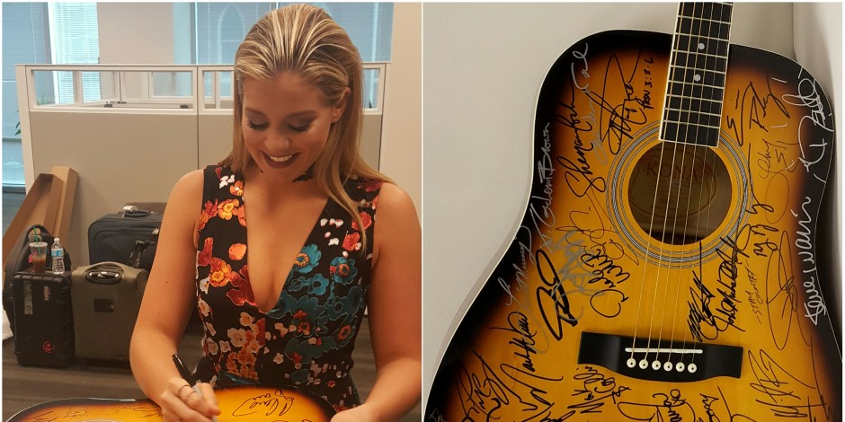 WIN a Guitar Autographed by More Than 30 Country Stars!