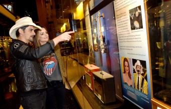 Brad Paisley Gets Emotional at CMHOF Exhibit Opening