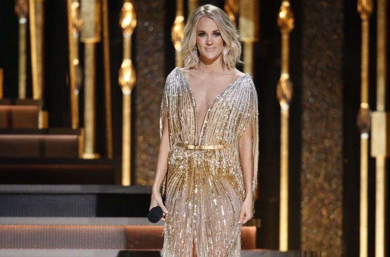 Carrie Underwood Takes Home CMA Award for Female Vocalist of the Year